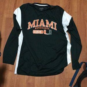 Tops - Miami hurricanes long sleeve